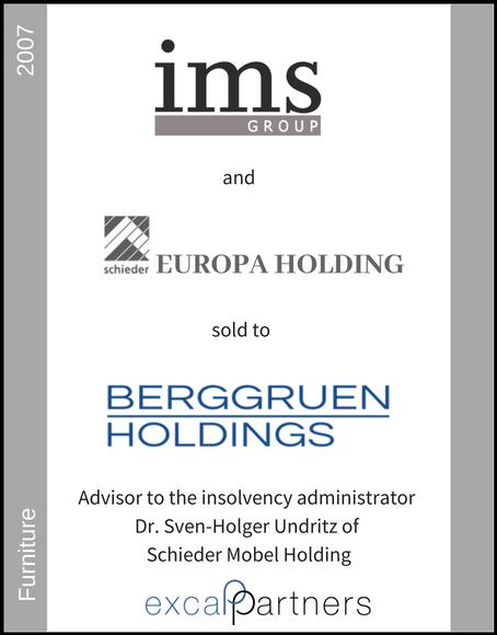Excap Partners Case Study Schieder Möbel Holding